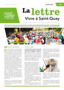 Vivre à Saint-Quay – lettre d'information n°159